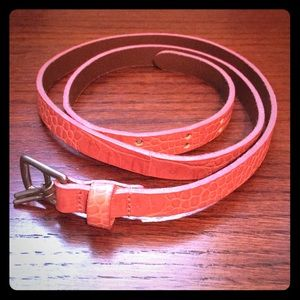 Pink Abercrombie & Fitch belt